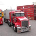 fotografiert am  7. Mai 2014 am Containerterminal Linz