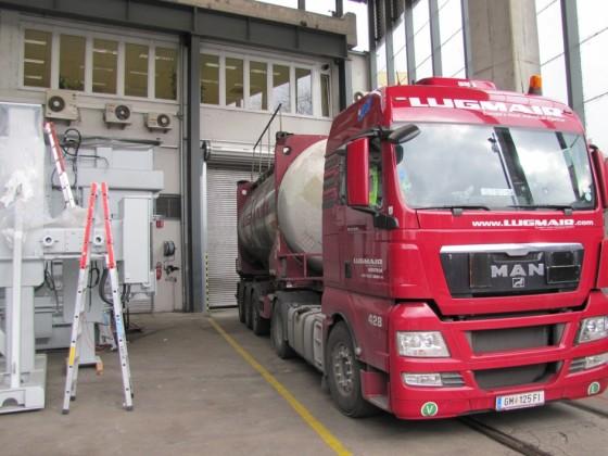 Trafoölzustellung bei Siemens....